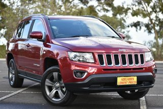 2015 Jeep Compass MK MY15 North CVT Auto Stick Red 6 Speed Constant Variable Wagon.