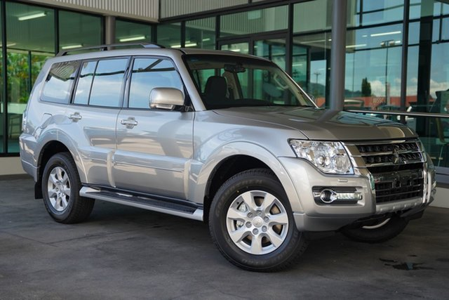 New Mitsubishi Pajero NX MY21 GLX Cairns, 2021 Mitsubishi Pajero NX MY21 GLX Sterling Silver 5 Speed Sports Automatic Wagon