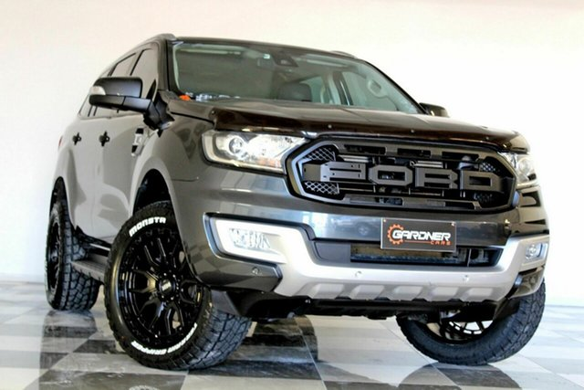 Used Ford Everest UA MY18 Trend (4WD) Burleigh Heads, 2017 Ford Everest UA MY18 Trend (4WD) Grey 6 Speed Automatic SUV