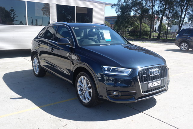 Used Audi Q3 8U MY14 TFSI S Tronic Quattro Maryville, 2014 Audi Q3 8U MY14 TFSI S Tronic Quattro Black 7 Speed Sports Automatic Dual Clutch Wagon