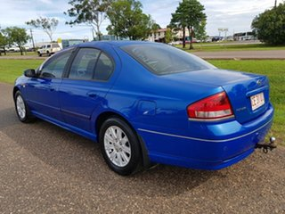 2006 Ford Falcon BF Futura Blue 4 Speed Sports Automatic Sedan