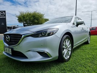 2016 Mazda 6 GL1031 Touring SKYACTIV-Drive Sonic Silver 6 Speed Sports Automatic Sedan