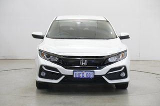 2020 Honda Civic 10th Gen MY20 VTi-S White 1 Speed Constant Variable Hatchback.