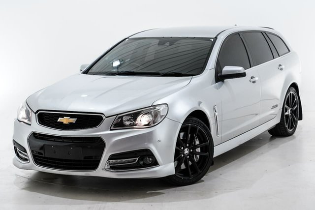 Used Holden Commodore VF MY14 SS V Sportwagon Redline Berwick, 2014 Holden Commodore VF MY14 SS V Sportwagon Redline Silver 6 Speed Sports Automatic Wagon