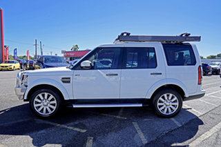 2015 Land Rover Discovery Series 4 L319 MY16 TDV6 White 8 Speed Sports Automatic Wagon