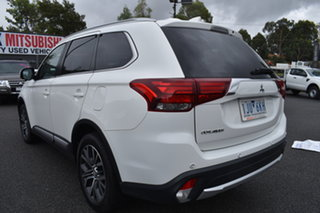2017 Mitsubishi Outlander ZK MY17 LS 2WD White 6 Speed Constant Variable Wagon.