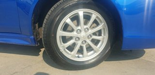 2010 Mitsubishi Lancer CJ MY10 ES Blue 6 Speed Constant Variable Sedan.
