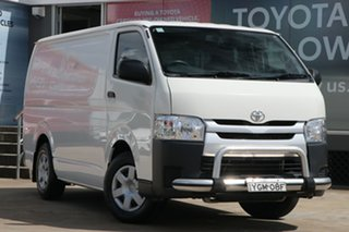 2016 Toyota HiAce TRH201R LWB French Vanilla 6 Speed Automatic Van