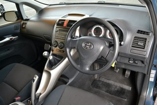 2008 Toyota Corolla ZRE152R Ascent Green 6 Speed Manual Hatchback.