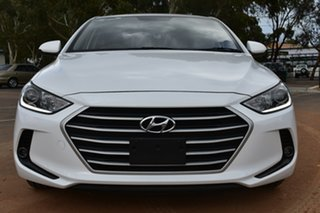 2017 Hyundai Elantra AD MY18 Active White 6 Speed Sports Automatic Sedan