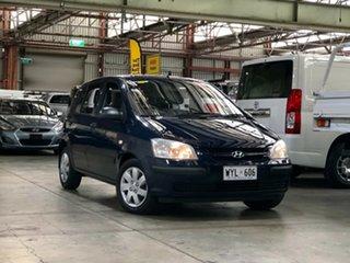 2003 Hyundai Getz TB GL Blue 5 Speed Manual Hatchback.