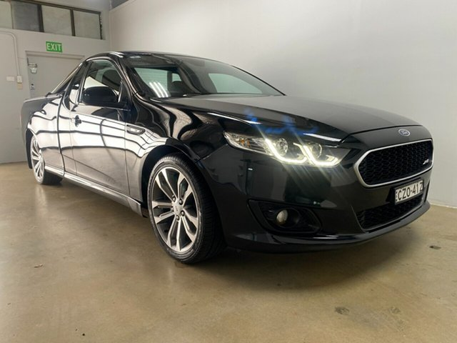 Used Ford Falcon FG X XR6 Phillip, 2015 Ford Falcon FG X XR6 Black 6 Speed Manual Utility