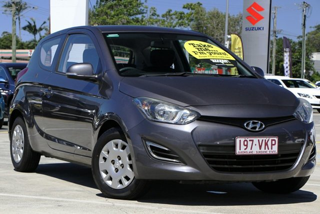 Used Hyundai i20 PB MY14 Active Aspley, 2014 Hyundai i20 PB MY14 Active Grey 6 Speed Manual Hatchback
