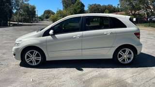 2011 Mercedes-Benz B-Class W245 MY11 B180 White 1 Speed Constant Variable Hatchback