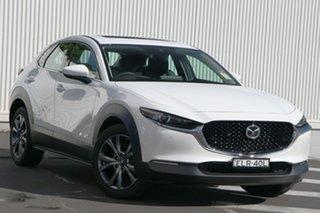 2020 Mazda CX-30 DM4WLA X20 SKYACTIV-Drive i-ACTIV AWD Astina Snowflake White Pearl 6 Speed.