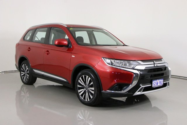 Used Mitsubishi Outlander ZL MY19 ES 7 Seat (AWD) Bentley, 2019 Mitsubishi Outlander ZL MY19 ES 7 Seat (AWD) Red Continuous Variable Wagon