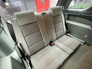 2005 Ford Territory SY TS Metallic Silver 4 Speed Sports Automatic Wagon