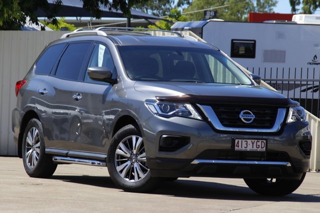 Used Nissan Pathfinder R52 Series II MY17 ST X-tronic 4WD Bundamba, 2018 Nissan Pathfinder R52 Series II MY17 ST X-tronic 4WD Gun Metallic 1 Speed Constant Variable