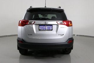 2014 Toyota RAV4 ASA44R Cruiser (4x4) Silver 6 Speed Automatic Wagon