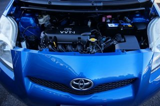 2009 Toyota Yaris NCP91R MY09 YRS Caribbean Blue 4 Speed Automatic Hatchback
