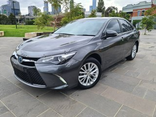 2016 Toyota Camry AVV50R Atara SL Grey 1 Speed Constant Variable Sedan Hybrid.