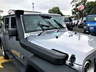 2013 Jeep Wrangler JK MY2014 Unlimited Sport Silver 5 Speed Automatic Softtop.