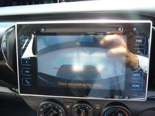 2018 Toyota Hilux GUN136R SR Double Cab 4x2 Hi-Rider Blue 6 Speed Sports Automatic Utility