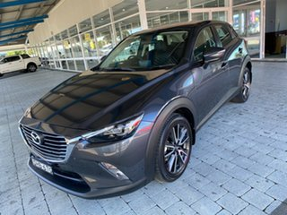2016 Mazda CX-3 sTouring Meteor Grey Sports Automatic Wagon.