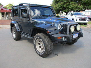 2008 Jeep Wrangler JK 2 Door Rubicon Blue 6 Speed Manual Hardtop.