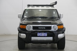 2013 Toyota FJ Cruiser GSJ15R Black 5 Speed Automatic Wagon.