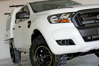 2016 Ford Ranger PX MkII XL 3.2 (4x4) White 6 Speed Automatic Crew Cab Chassi.