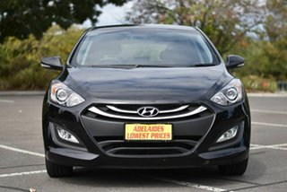 2014 Hyundai i30 GD MY14 Elite Black 6 Speed Sports Automatic Hatchback.