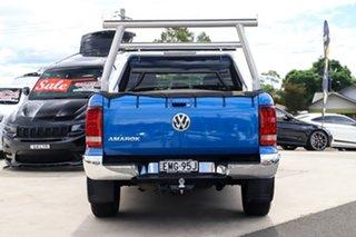 2018 Volkswagen Amarok 2H MY19 TDI580 4MOTION Perm Ultimate Ravenna Blue 8 Speed Automatic Utility