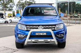 2018 Volkswagen Amarok 2H MY19 TDI580 4MOTION Perm Ultimate Ravenna Blue 8 Speed Automatic Utility