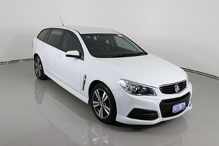 2015 Holden Commodore VF II SV6 White 6 Speed Automatic Sportswagon