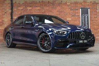 2020 Mercedes-Benz E-Class W213 801MY E63 AMG SPEEDSHIFT MCT 4MATIC+ S Cavansite Blue 9 Speed.