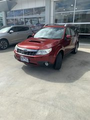 2011 Subaru Forester S3 MY11 S-Edition AWD Maroon 5 Speed Sports Automatic Wagon