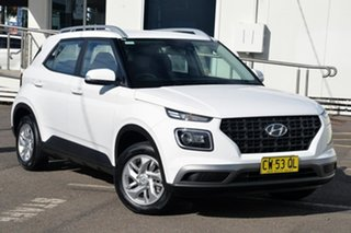 2019 Hyundai Venue QX MY20 Active White 6 Speed Automatic Wagon.