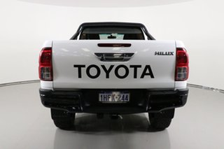 2017 Toyota Hilux GUN126R SR (4x4) White 6 Speed Manual X Cab Utility