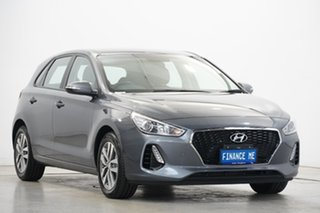 2019 Hyundai i30 PD2 MY19 Active Grey 6 Speed Sports Automatic Hatchback