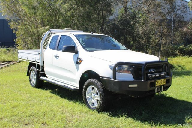 Used Ford Ranger PX MkII XL Ormeau, 2016 Ford Ranger PX MkII XL White 6 Speed Sports Automatic Cab Chassis