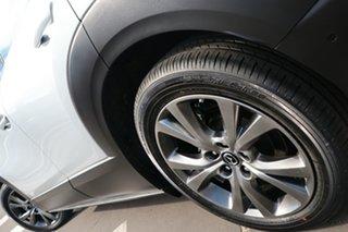 2020 Mazda CX-30 DM4WLA G25 SKYACTIV-Drive i-ACTIV AWD Astina Sonic Silver 6 Speed Sports Automatic
