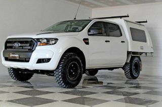 2016 Ford Ranger PX MkII XL 3.2 (4x4) White 6 Speed Automatic Crew Cab Chassi