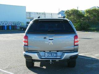 2015 Mitsubishi Triton MQ MY16 GLS (4x4) Grey 6 Speed Manual Dual Cab Utility