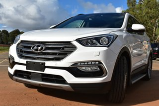 2015 Hyundai Santa Fe DM3 MY16 Highlander White 6 Speed Sports Automatic Wagon