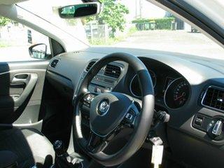 2016 Volkswagen Polo 6R MY16 81 TSI Comfortline White 6 Speed Manual Hatchback