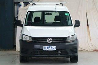 2017 Volkswagen Caddy 2K MY18 Maxi Comfortline TSI220 White 7 Speed Auto Direct Shift Wagon