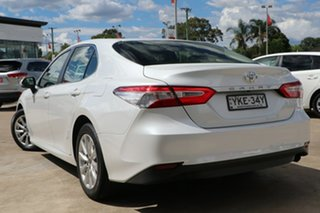 2019 Toyota Camry ASV70R Ascent Frosted White 6 Speed Automatic Sedan.