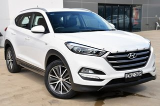 2016 Hyundai Tucson TL MY17 Active X 2WD White 6 Speed Sports Automatic Wagon.