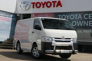 2016 Toyota HiAce TRH201R LWB French Vanilla 6 Speed Automatic Van.
